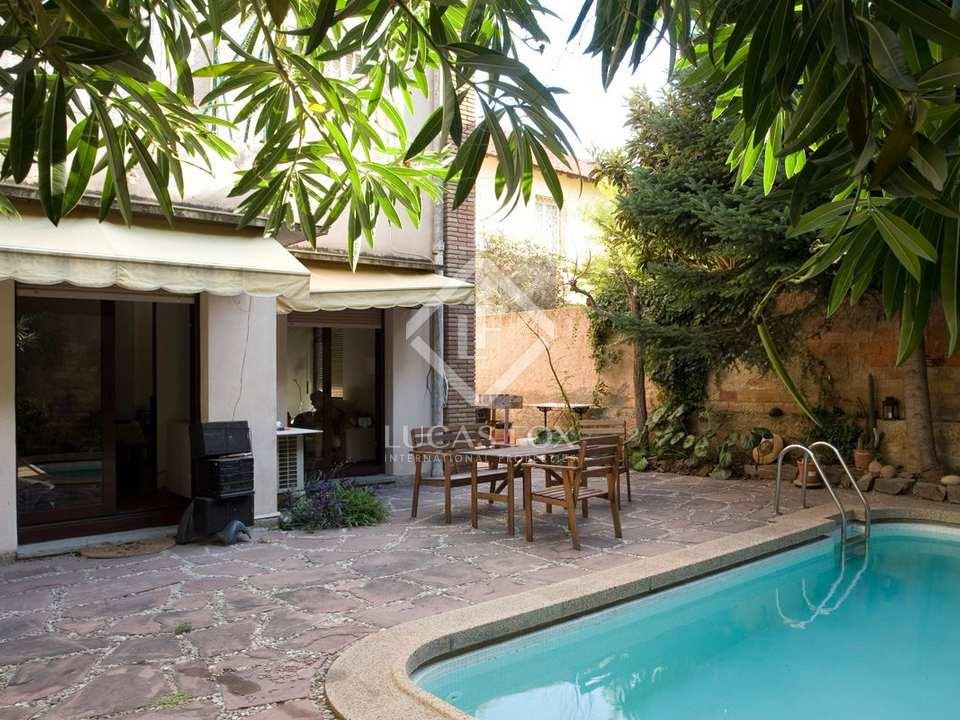 Appartement avec jardin en vente tres torres barcelone for Jardin 150m2