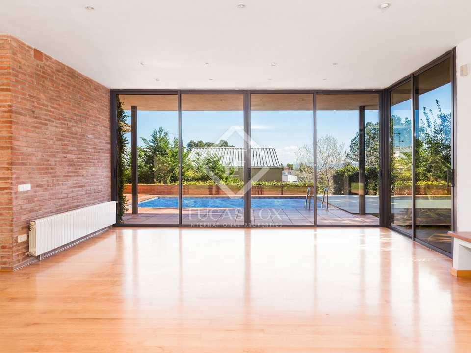 Casa en venta en bellaterra cerca de sant cugat barcelona - Natura casa barcelona ...