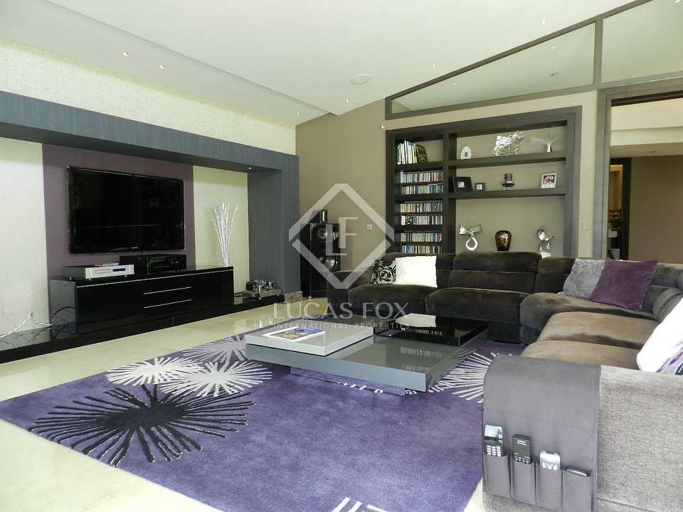 Lounge - 5 bed luxury villa Hacienda las Chapas, Marbella