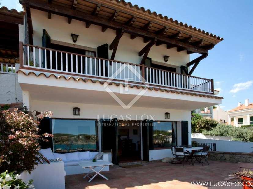 Casa en primera l nea en venta en la fosca costa brava - Casa playa costa brava ...
