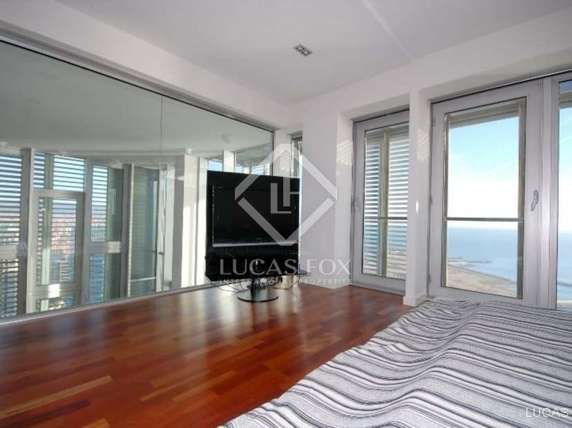 Tico d plex con vistas al mar en venta en diagonal mar - Atico duplex barcelona ...