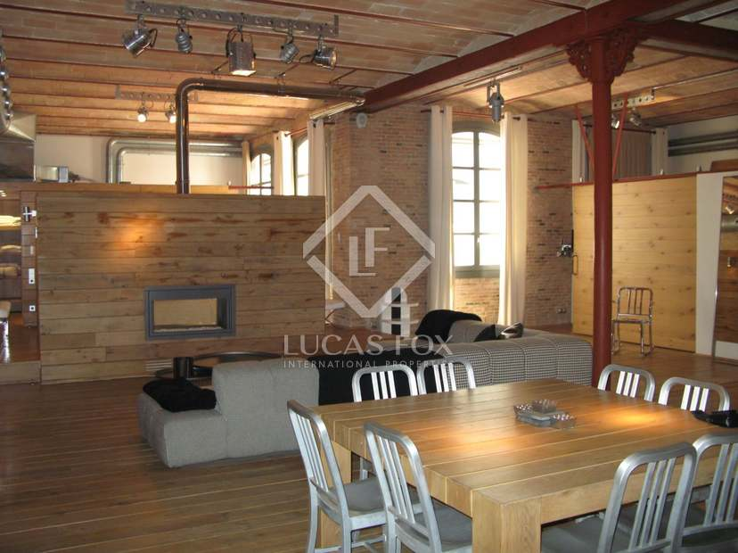 New York Style Loft Apartments For Long Term Rent In Eixample