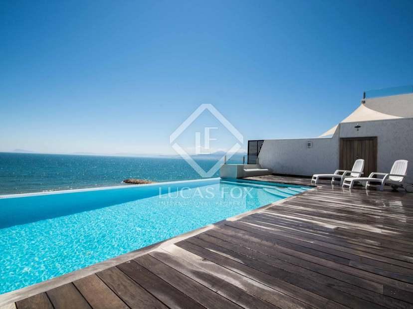 Chalet en primera l nea de playa en venta en cullera cerca de valencia ciudad - Casas del mediterraneo valencia ...