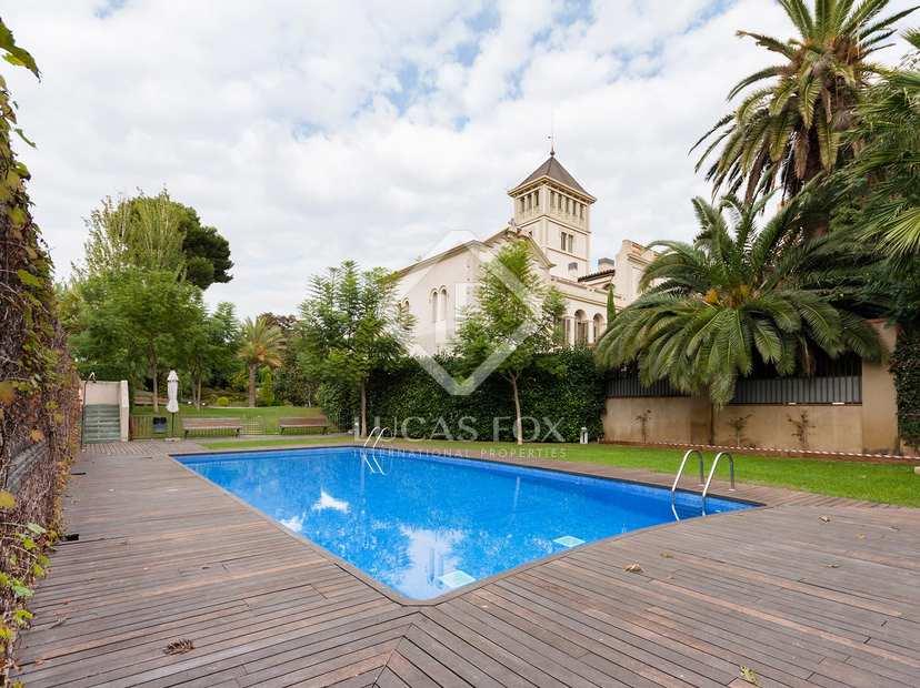 Mas a catalanaen venta en sant just desvern barcelona for Jardin infantil nubesol villa alemana