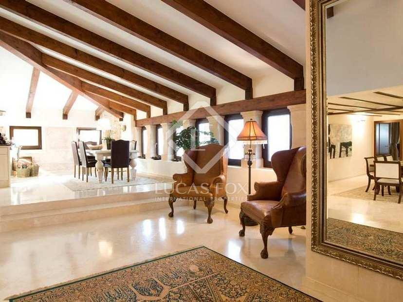 Penthaus wohnung mit 4 schlafzimmern zum verkauf in palmas altstadt mallorca - Dachwohnung interieur penthouse ...