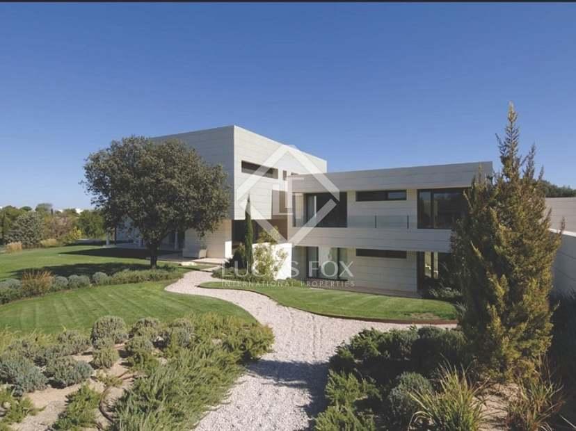 Casa de lujo en alquiler en la finca madrid - Casa en la finca ...