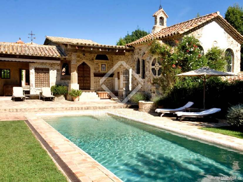 Casa rural de lujo en venta en girona lucas fox - Casas alquiler costa brava ...