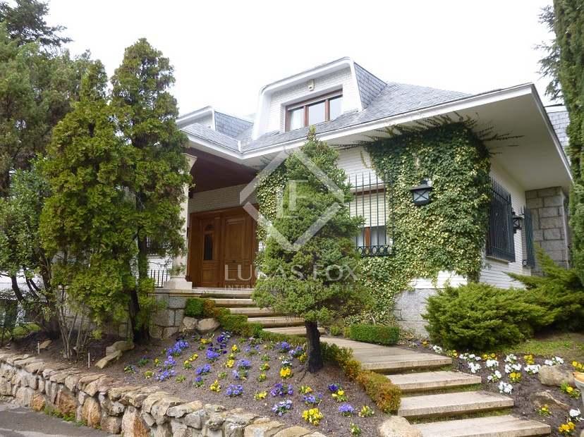 Casa en venta en mirasierra cerca del centro de madrid - Casas en mirasierra madrid ...