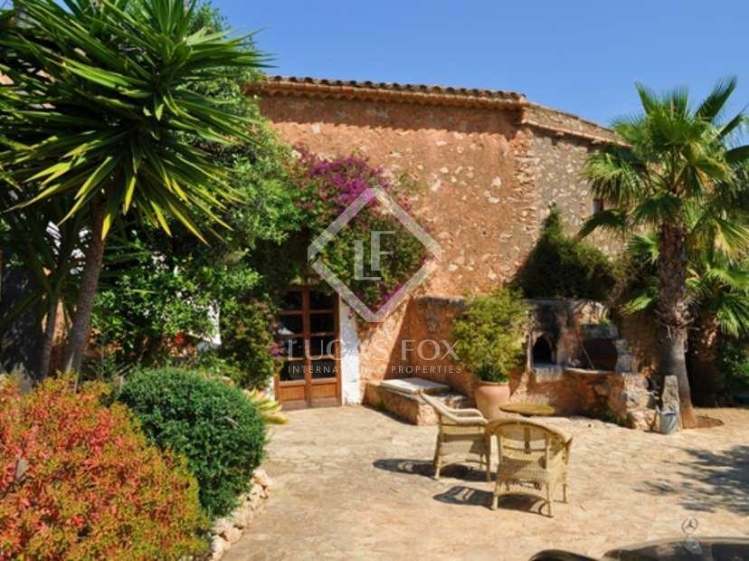 Casa rural en venta en el este de mallorca porto cristo - Casa rural palma de mallorca ...