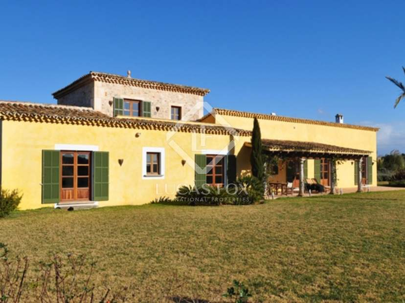Casa de campo de lujo en venta en felanitx mallorca - Casas de campo en mallorca ...