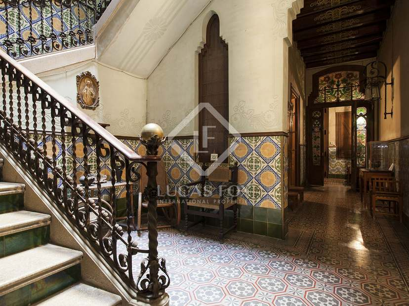 Casas modernistas interiores - Casa modernista barcelona ...
