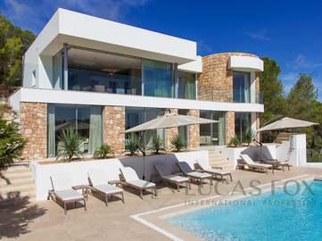 Superbe villa en vente à Es Cubells, près de San José à Ibiza