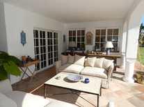 Terrace - 4 Bed Villa Guadalmina Baja, Marbella