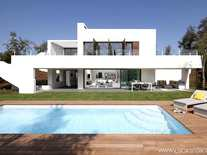 Contemporary design, semi-detached, golf property to buy on the prestigious PGA de Catalunya golf resort - near Girona city and the beaches of the Costa Brava