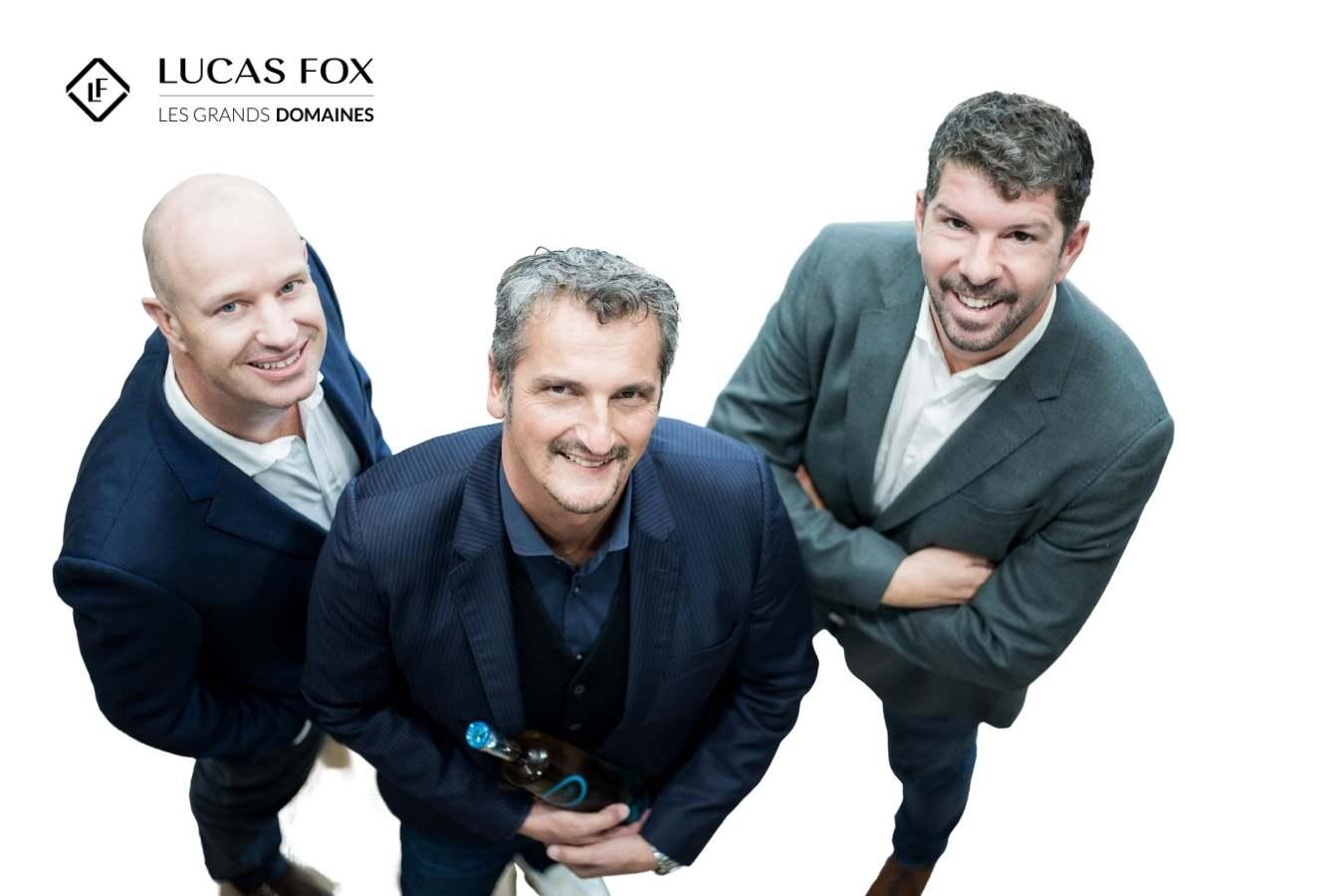 fundadores de Lucas Fox y Les Grands Domaines